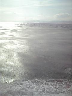 シャーベット流氷