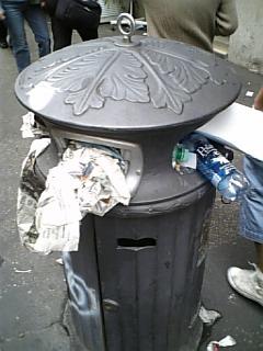 ローマのゴミ箱
